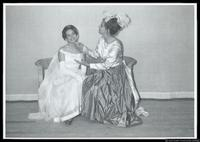 "Two Cast members from the play; ""Ring Around the Moon"""