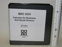 MAC 2233 DVDs, image a