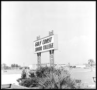 Gulf Coast Junior College Sign