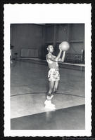 1966 Basketball Player, # 12, Tony Clines