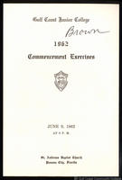 1962 Commencement Exercises