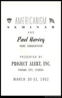 Americanism Seminar and Paul Harvey News Commentator